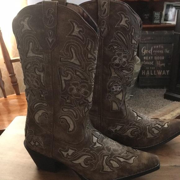b5b7b2c0a74 Laredo Authentic Western Boots 9M NWT